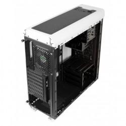 Case per PC Aerocool Aero 500G RGB Middle Tower Bianco - Pannelli in vetro temperato