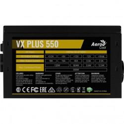 Aerocool VX Plus 550W Alimentatore ATX con ventola da 120mm