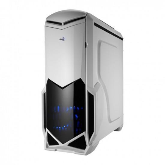 Case ATX Middle Tower Aerocool BattleHawk White Edition