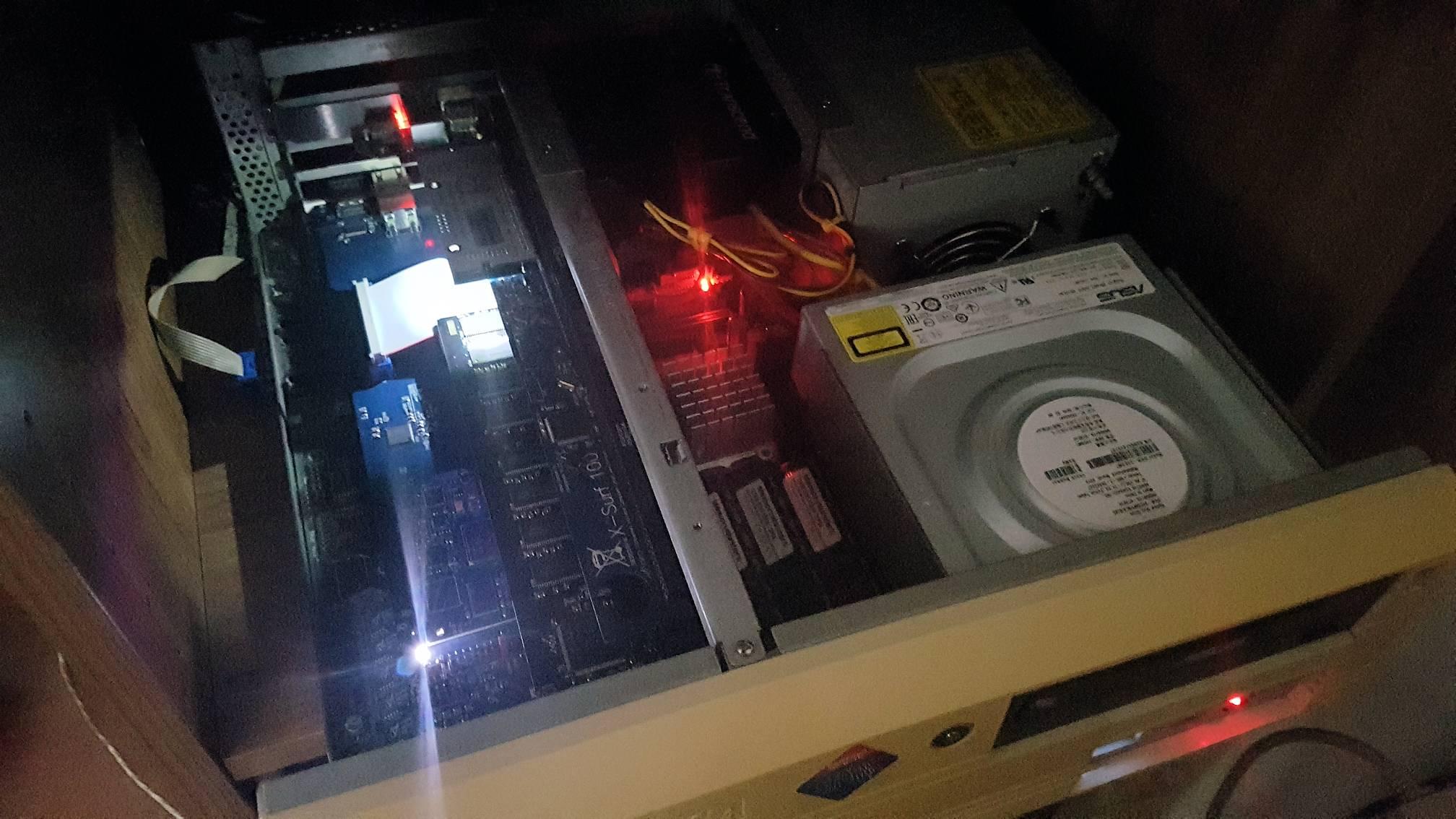 Amiga 4000 in funzione
