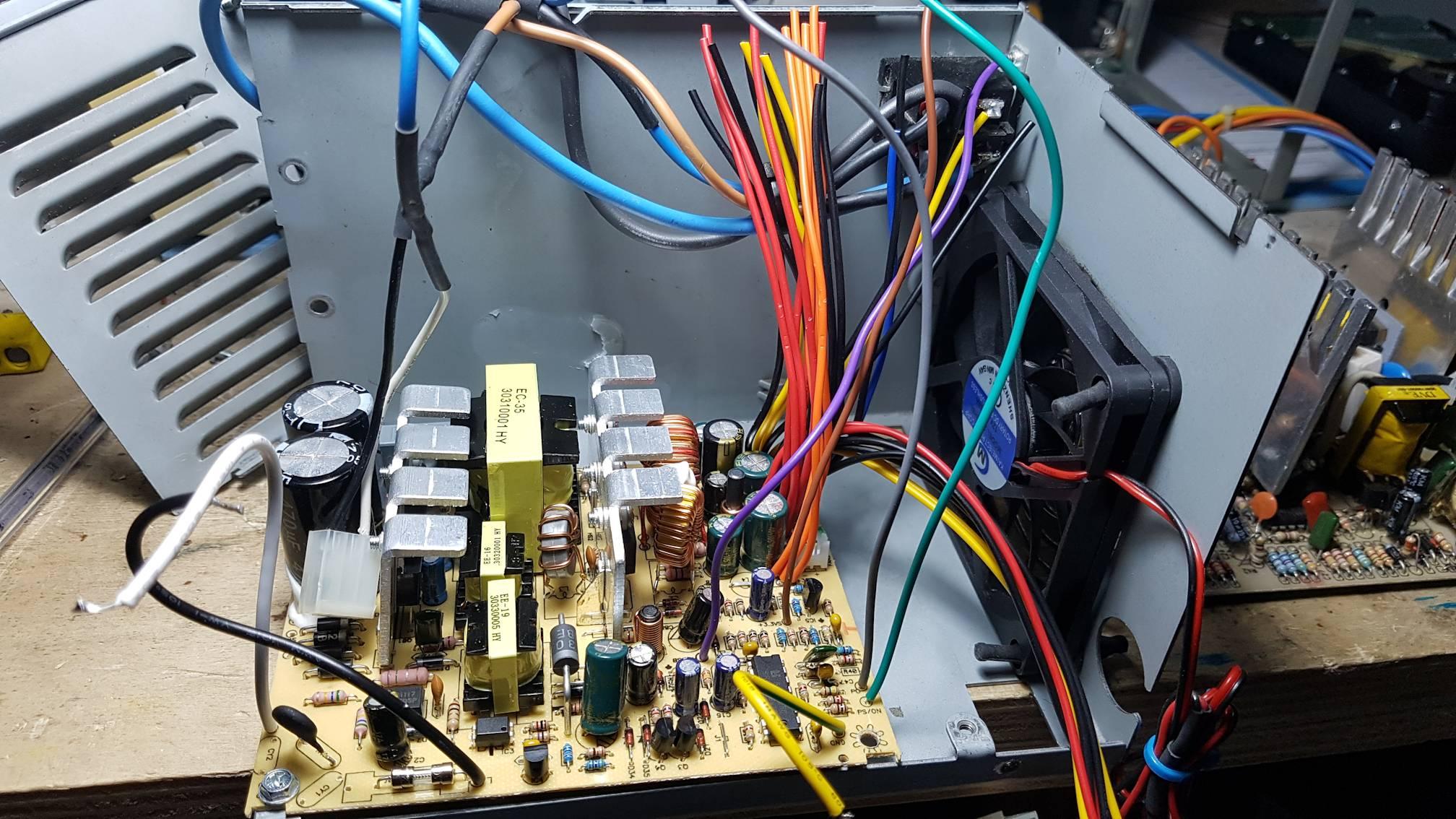 Posizionamento della nuova elettronica ATX