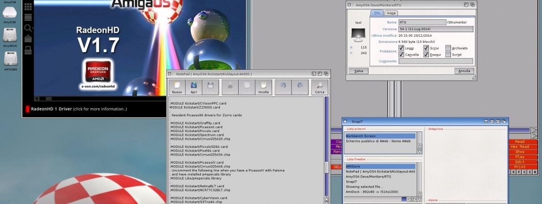 La ZZ9000 funziona bene anche su Amiga OS4.1 FE con PowerPC !