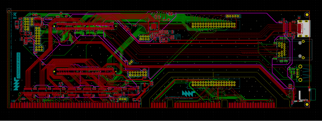 Fix 1V8 / 3V3 of my ZZ9000 with the track cut !
