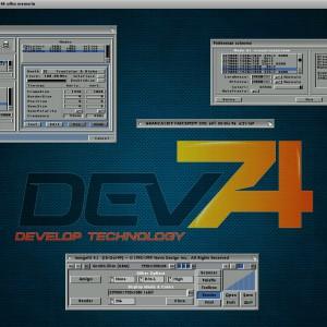 WorkBench Amiga su OS 3.1.4.1 a 1920 x 1080 x 16bit