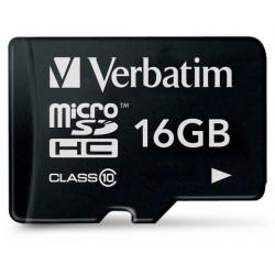 Scheda di Memoria Micro SDHC 16 Gb - Classe 10