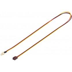 Cavetto di prolunga a 3 pin per ventole tachimetriche