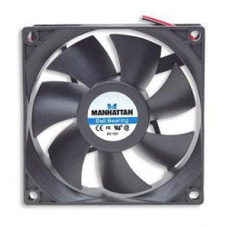 Cooling fan 80X80x25mm 12Volt with bearings