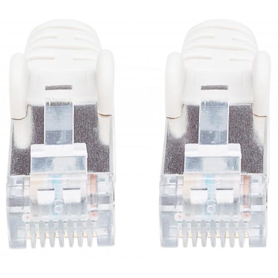 Cavo Patch di Categoria 7 Plug RJ45 6A S/FTP LSZH da 30m Bianco