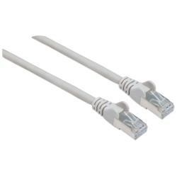 Cavo Patch di Categoria 7 Plug RJ45 6A S/FTP LSZH da 30m Grigio