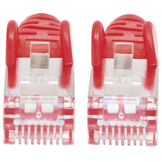 Cavo Patch di Categoria 7 Plug RJ45 6A S/FTP LSZH da 30m Rosso