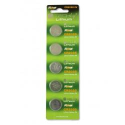 Batterie a bottone Litio CR2025