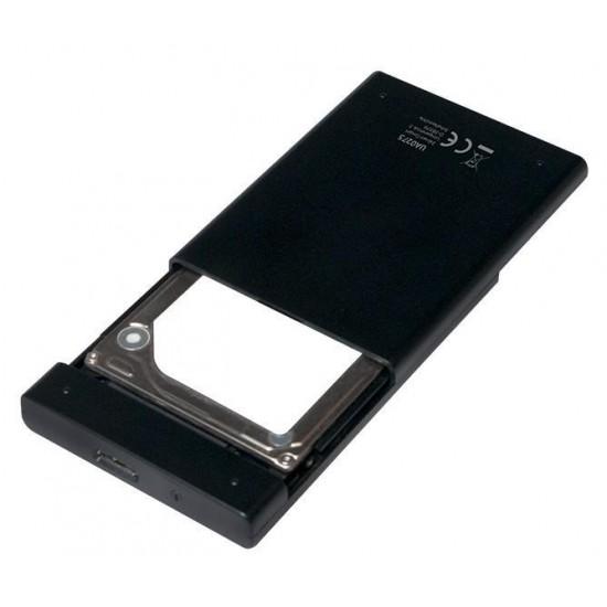 Box Esterno USB3 per HD / SSD da 2.5 pollici SATA senza viti