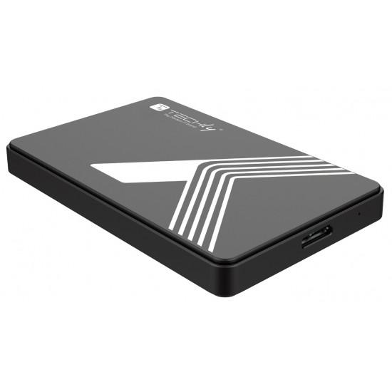 Box Esterno USB 3.0 per Hard Disk SATA da 2,5 pollici Nero