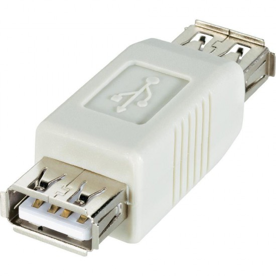 Adattatore USB 2.0 A da femmina a femmina