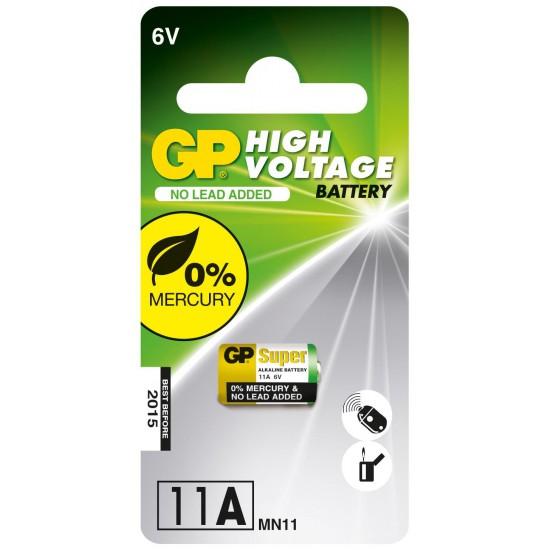 Batteria da 6 volt formato 11A