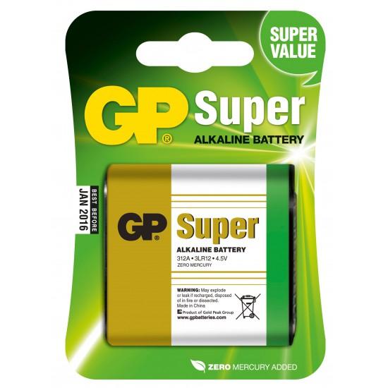 Batteria da 4,5Volt GP Super 312A  3LR12