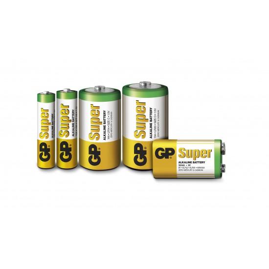 12 Batterie / Pile AAA Mini Stilo da 1,5Volt GP Super