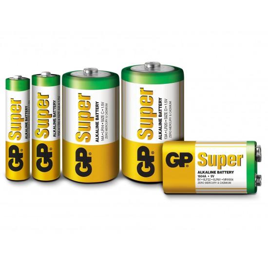 Batteria da 9 Volt GP Super
