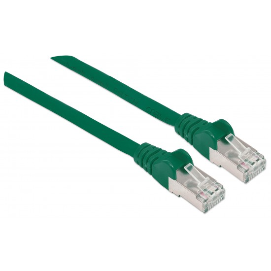 Cavo Patch di Categoria 7 Plug RJ45 6A S/FTP LSZH da 30m Verde