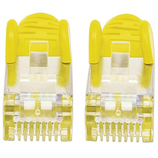 Cavo Patch di Categoria 7 Plug RJ45 6A S/FTP LSZH da 30m Giallo