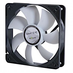 Silent Fan 120x120x25mm 12V with Temperature Control