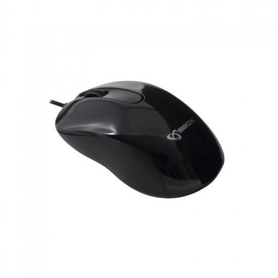 Mouse Ottico 3D USB2 con risoluzione di 1000 dpi M-901 Nero