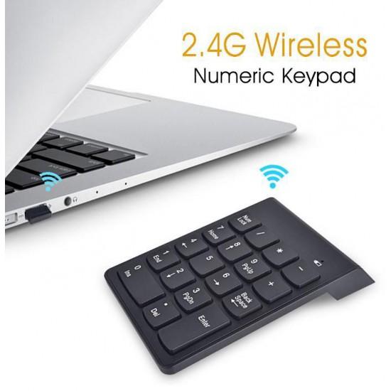 Tastierino Numerico Wireless a 18 Tasti