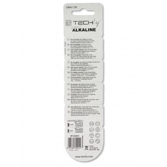 Confezione da 10 batterie a Bottone Alcaline AG13 LR44 A76 GP76A 357
