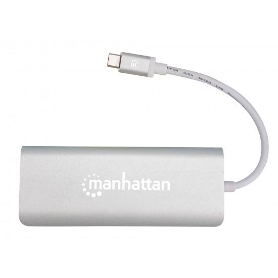 Adattatore HUB USB-C™ multimediale multifunzione SuperSpeed Multiporta