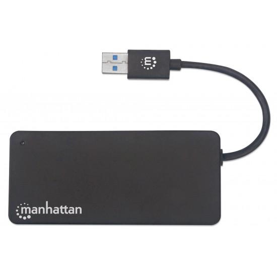 Hub USB 3.2 Gen 1 a 3 porte con lettore scheda SD