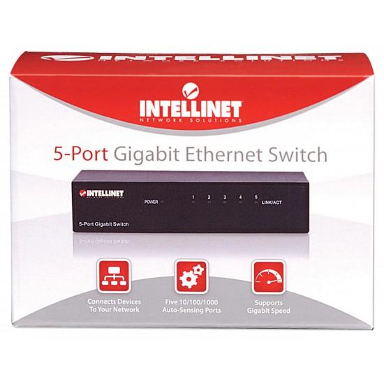 Switch Ethernet Gigabit con 5 porte da tavolo