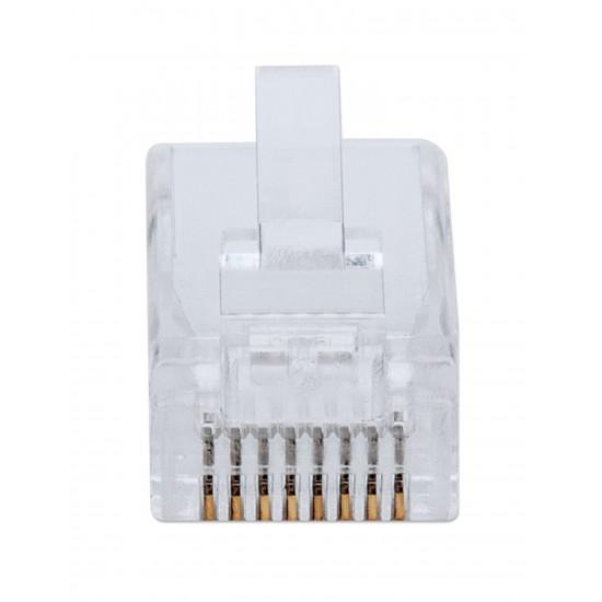 Pack of 50 modular RJ45 Category 6 FastCrimp plugs