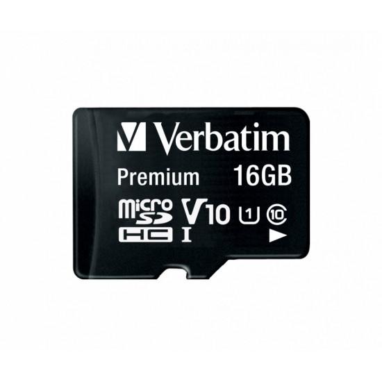 Memoria Micro SDHC 16 Gb con Adattatore - Classe 10