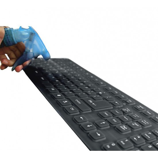Flexible and waterproof USB/PS2 Silicone Keyboard