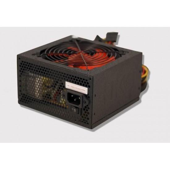Alimentatore per PC V-Power da 650 Watt ATX Nero versione Silent