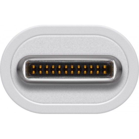 Hub USB-C SuperSpeed con 2 porte USB 3.0 eporta LAN RJ-45 Gigabit