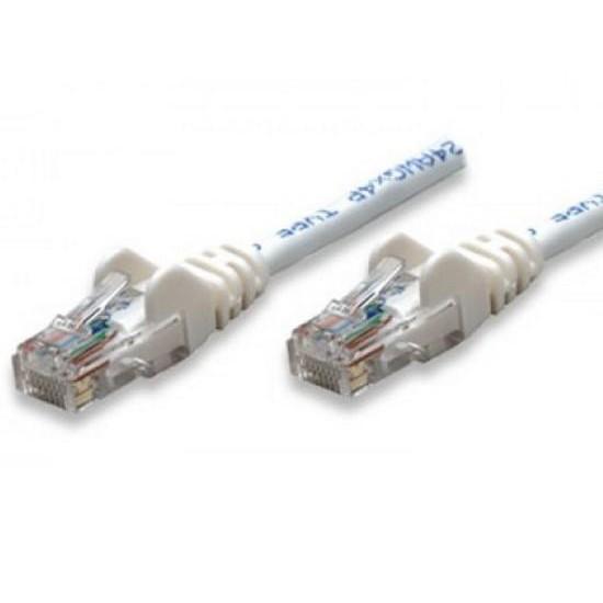 Cavo di rete Patch CCA Categoria 5e Bianco UTP 0,5 mt
