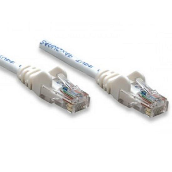 Cavo di rete Patch CCA Categoria 5e Bianco UTP 1 mt