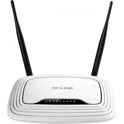 Router broadband TP-LINK TL-WR841N with WIFI at 2.4 GHz 300 Mbit/s
