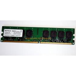 Buffalo D2U800C-1G/BJ 1GB DDR2 DIMM Memory Module