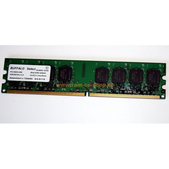 Modulo di memoria DIMM DDR2 Buffalo D2U800C-1G/BJ da 1GB