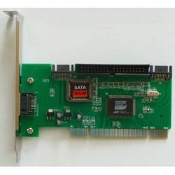 Controller PCI SATA II RAID più controller PATA Promise PDC20376