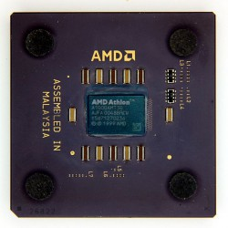CPU AMD Athlon 1 GHz A1000AMT3B