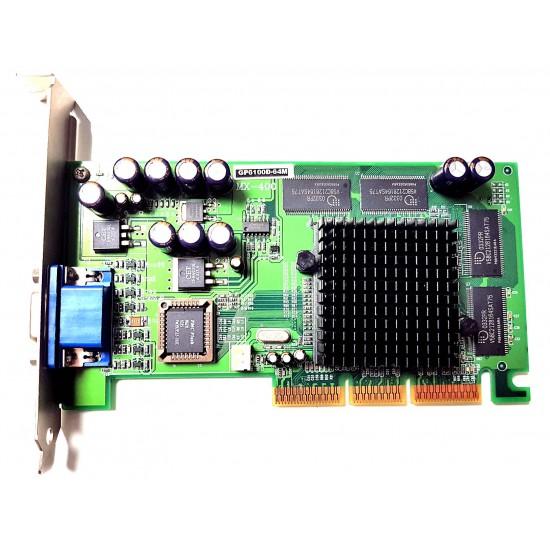 Scheda Video NVidia AGP GeForce 2 MX400 GP6100D-64M