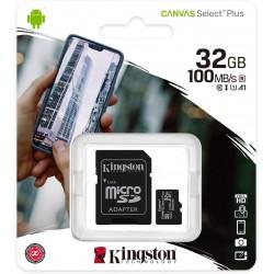 Scheda microSD da 32GB Classe 10 con Adattatore SD Incluso