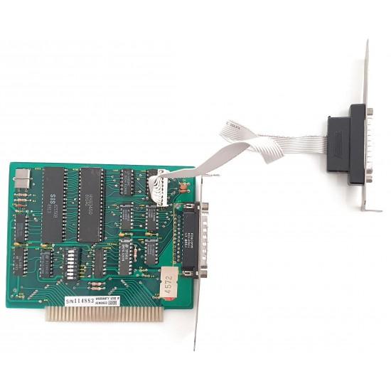Scheda seriale da slot ISA 8 bit a due porte seriali