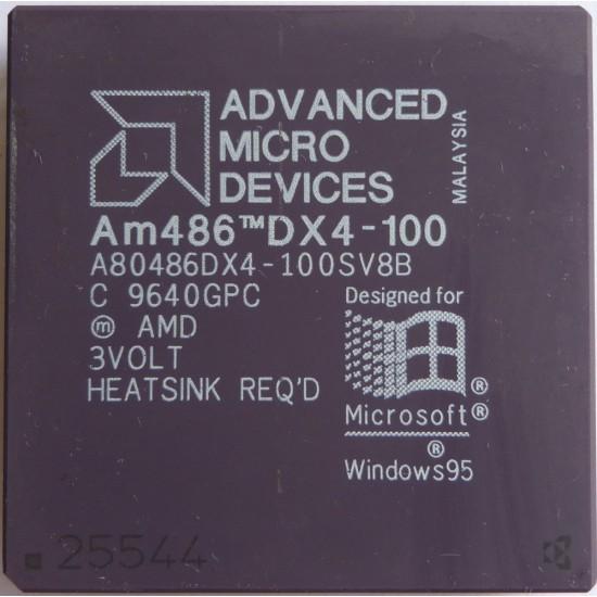 CPU AMD 486 DX4 a 100mhz A80486DX4-100SV8B