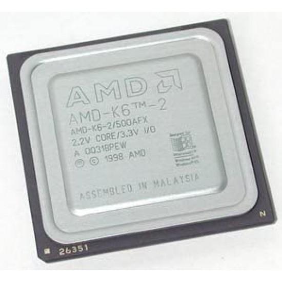 CPU AMD-K6-2/475AFX 475MHz 2.2V CORE 3.3V IO