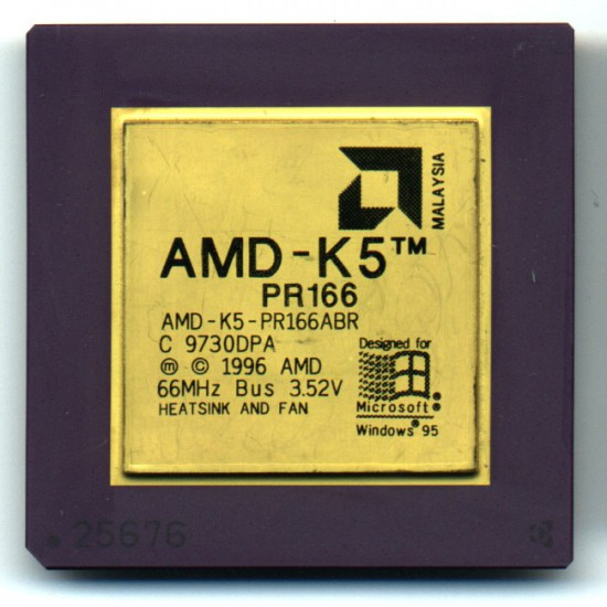 CPU AMD K5 P166 PR166ABR