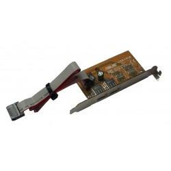 Scheda ASUS USB/MIR per aggiungere due porte USB